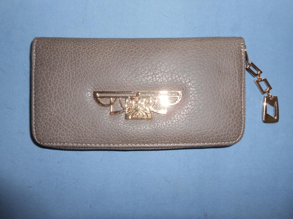 Śliczny portfel damski duży