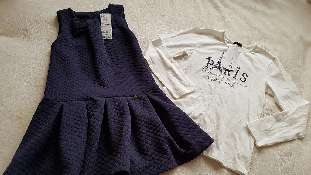 Wójcik 152 nowa sukienka bluzeczka Nasza wycieczka