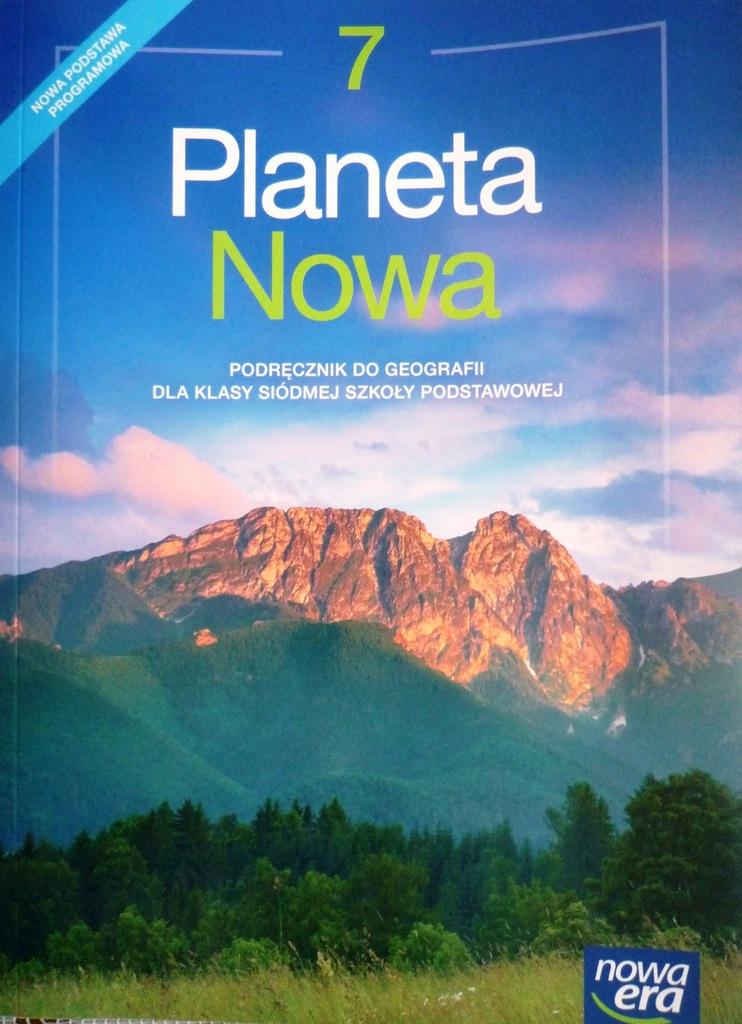 Planeta Nowa 7 podręcznik do geografii