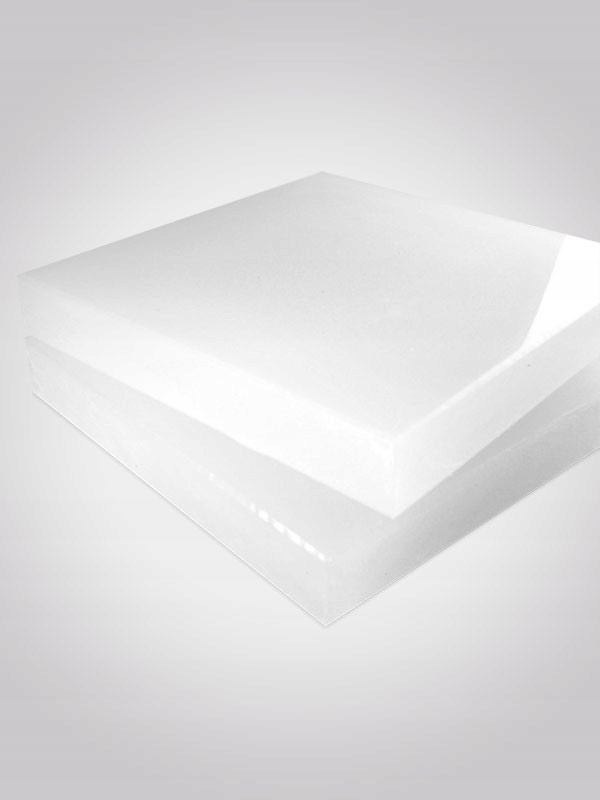 Płyta polietylen PE500 50cm x 25cm #30mm biały