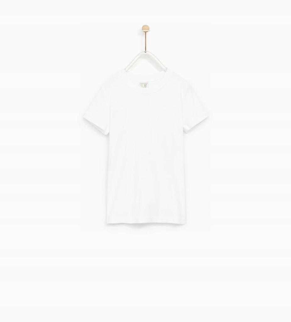 ZARA BOYS 98 CM T-Shirt Biały AA939