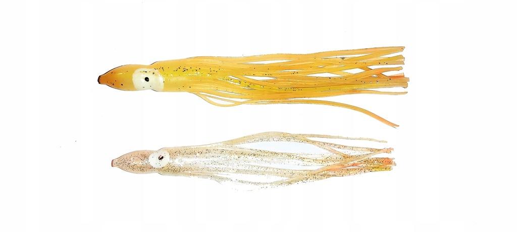 Przywieszki Octopus 12,5 i 13 cm dorsze halibuty