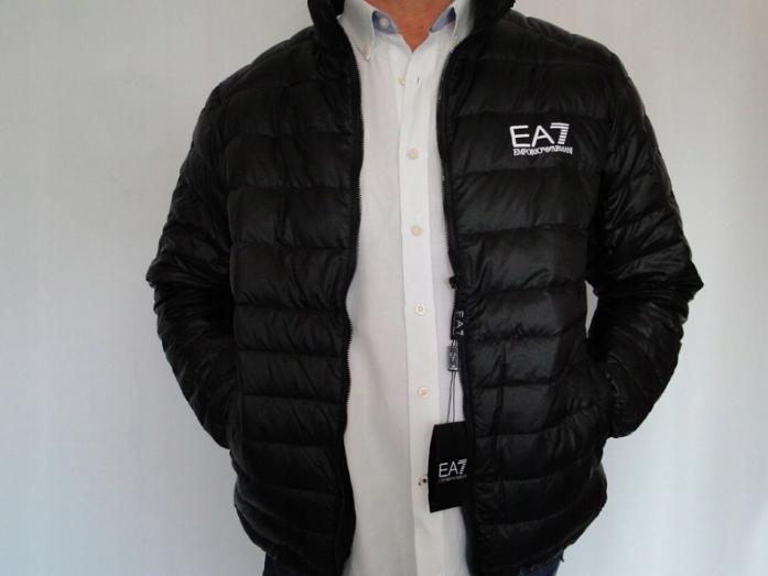 Kurtka ARMANI EA7 , czarna rozmiar XXL na stójce