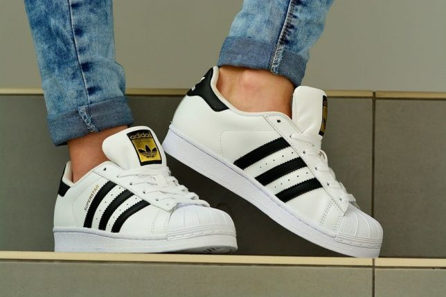 Buty damskie ADIDAS ORIGINALS SUPERSTAR r.38,5
