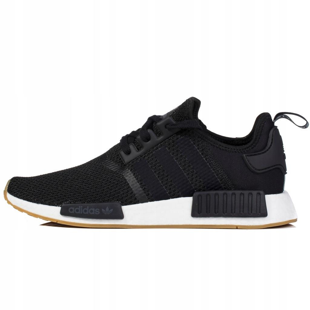 Buty Adidas Męskie NMD_R1 B42200 Czarne Boost Ceny i