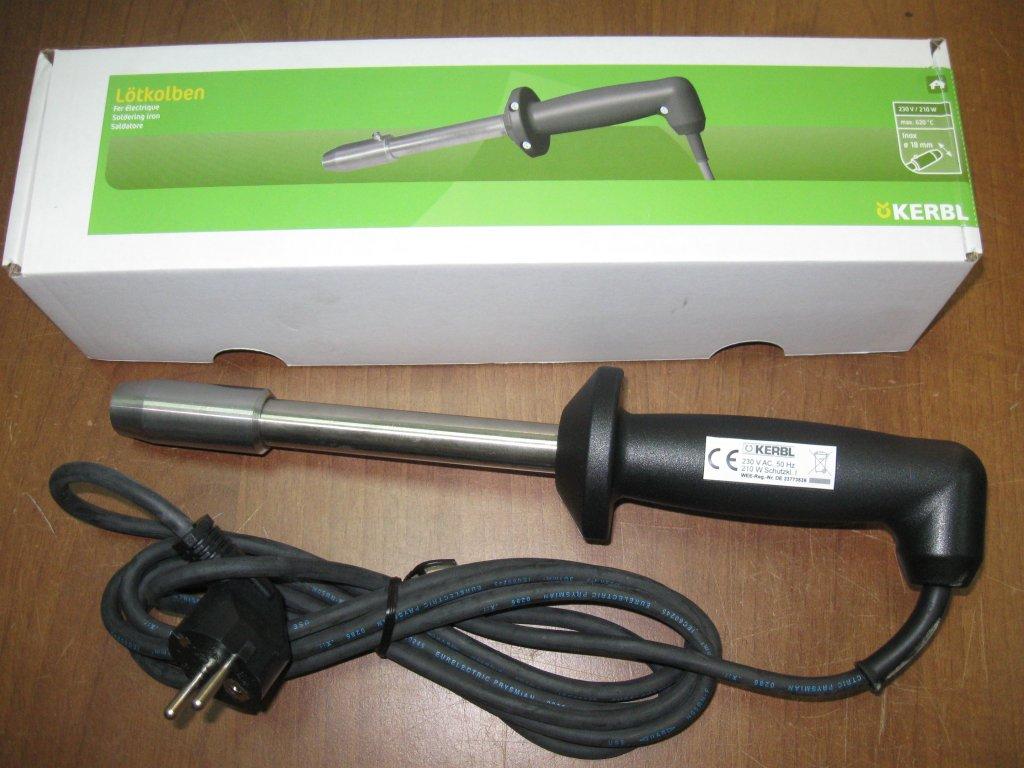 Dekornizator elektryczny KERBL wypalarka rogów