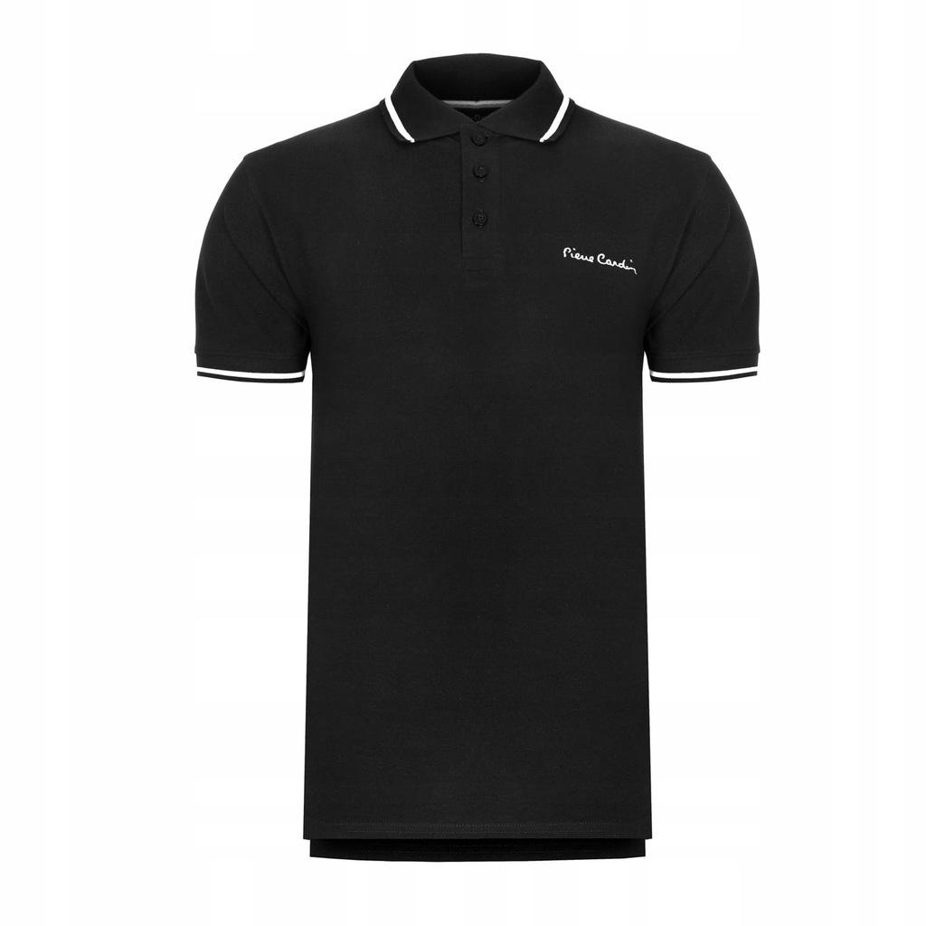 Koszulka polówka POLO PIERRE CARDIN czarne L