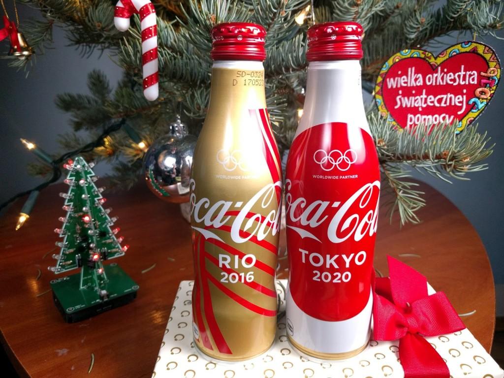 Limitowana Coca-Cola Rio 2016 Tokyo 2020 JAPAN ALU