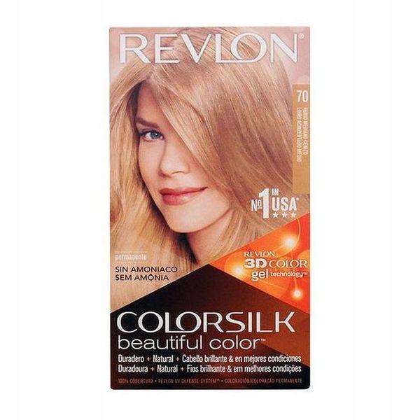 Farba bez Amoniaku Colorsilk Revlon Popielaty jasn