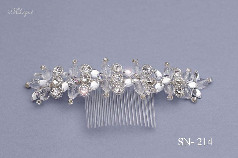 Stroik ślubny SN214 - fryzury ślubnej, głowę