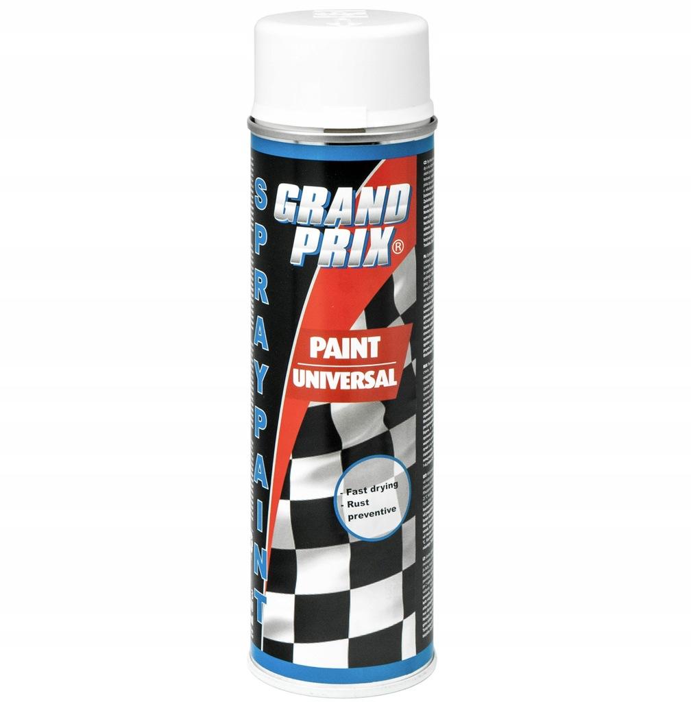 Lakier akrylowy 500ml GRAND PRIX biały połysk