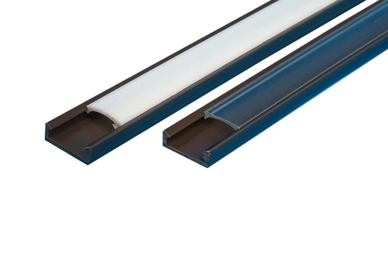 Profil elastyczny do taśma led 8 10 mm 2m + KLOSZ