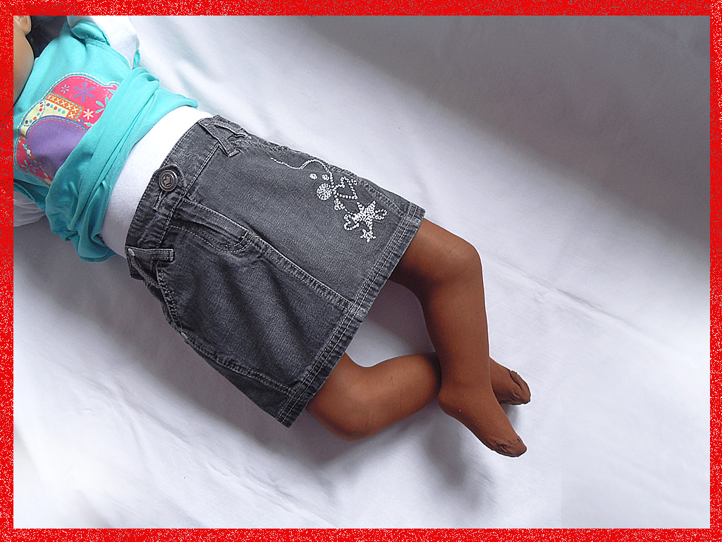 Jeansowa spódniczka NEXT, 98cm, 3 lata