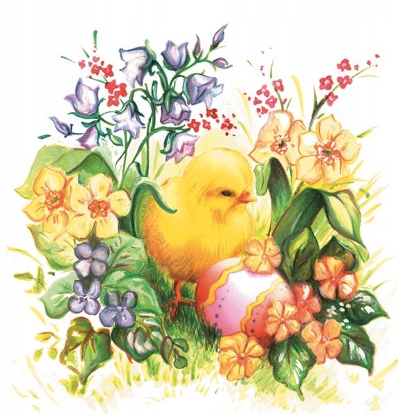 Serwetki Wielkanocne Decoupage Kurczak 20szt 8927993481 Oficjalne Archiwum Allegro