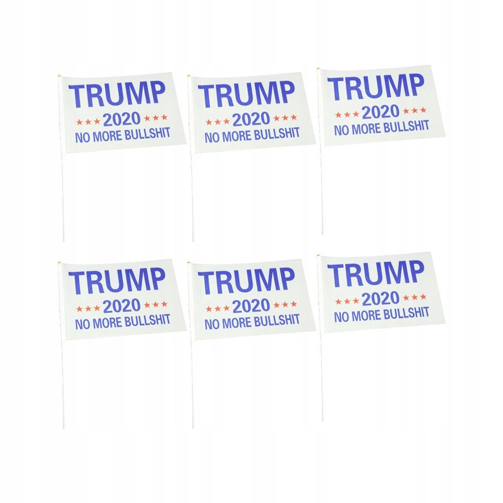 20 sztuk 2020 Flagi Ręczne Flaga Trumpa USA Prezyd