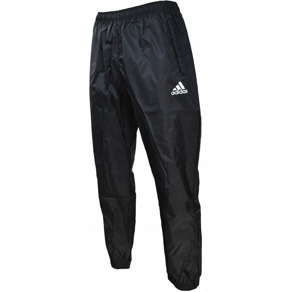adidas SPODNIE ORTALIONOWE CORE 15 RAIN czarne