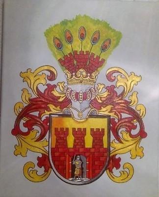 HERB SZLACHECKI GRZYMAŁA , 21 x 30 cm ( wzór