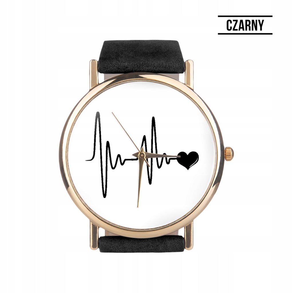 zegarek damskie z rytm serca allegro