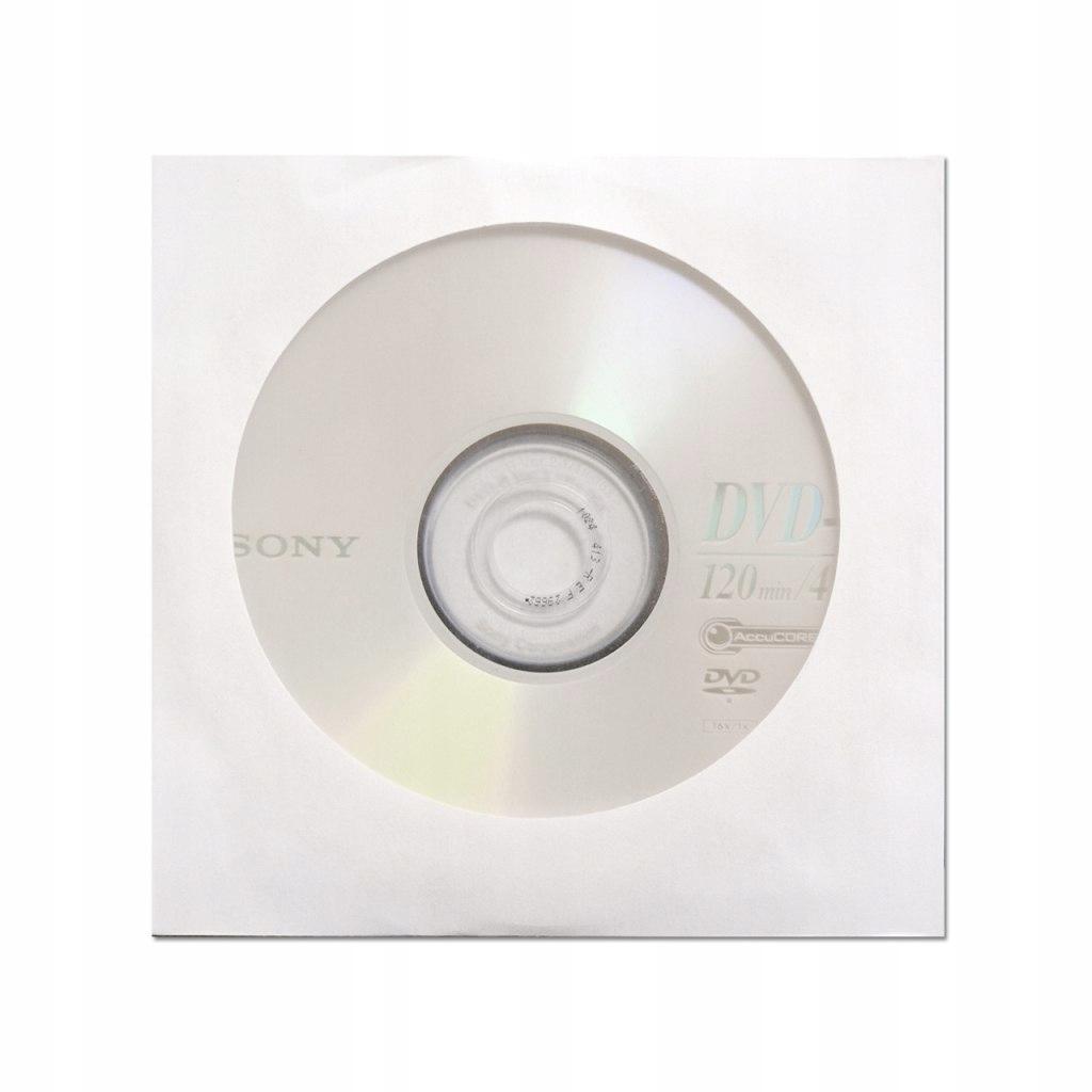 DYSK SONY DVD-R 4.7GB 16X koperta 1szt/EAN (zbiorc