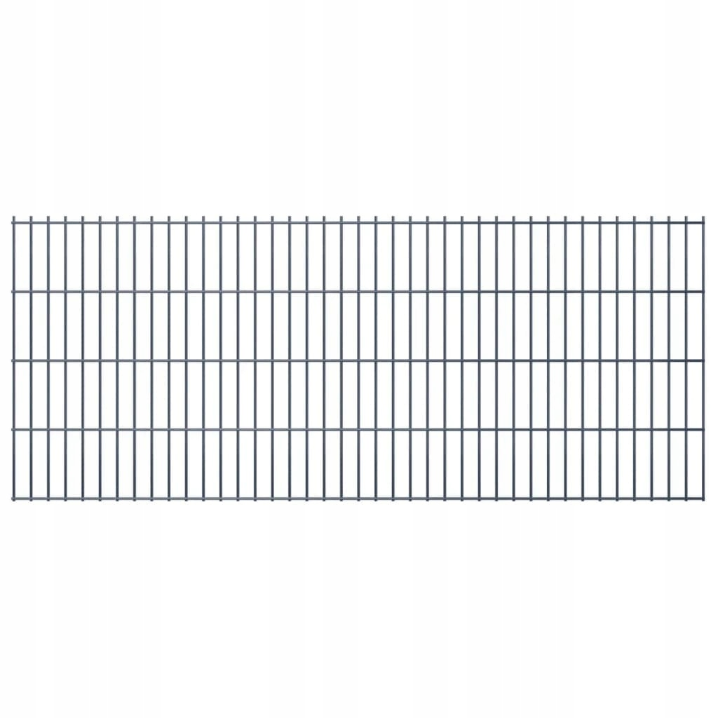 2D Panele ogrodzeniowe 2008x830 mm 50 m szare 25 s