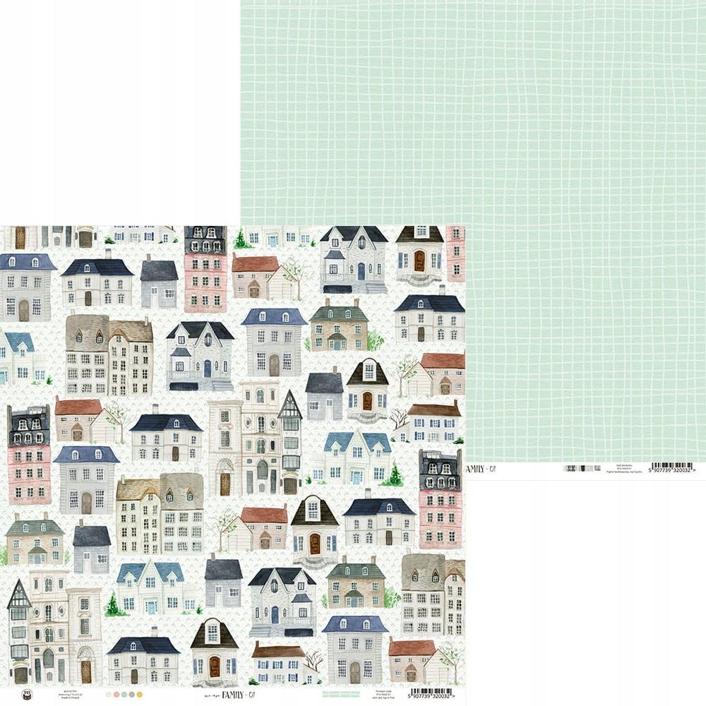 Papier 30,5 x 30,5 cm - P13 - We are family 01
