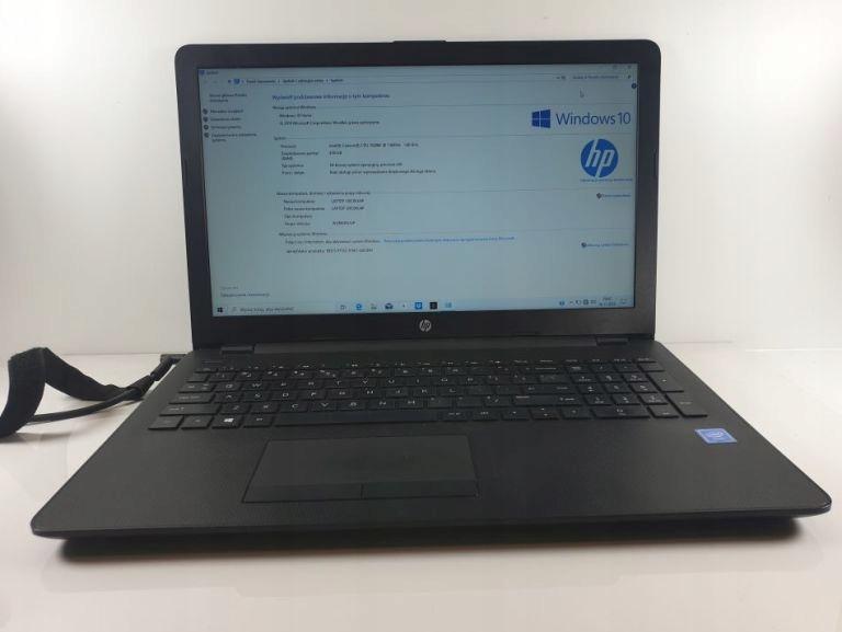 LAPTOP HP RTL8723DE 4GB RAM CELERON 500GB HDD