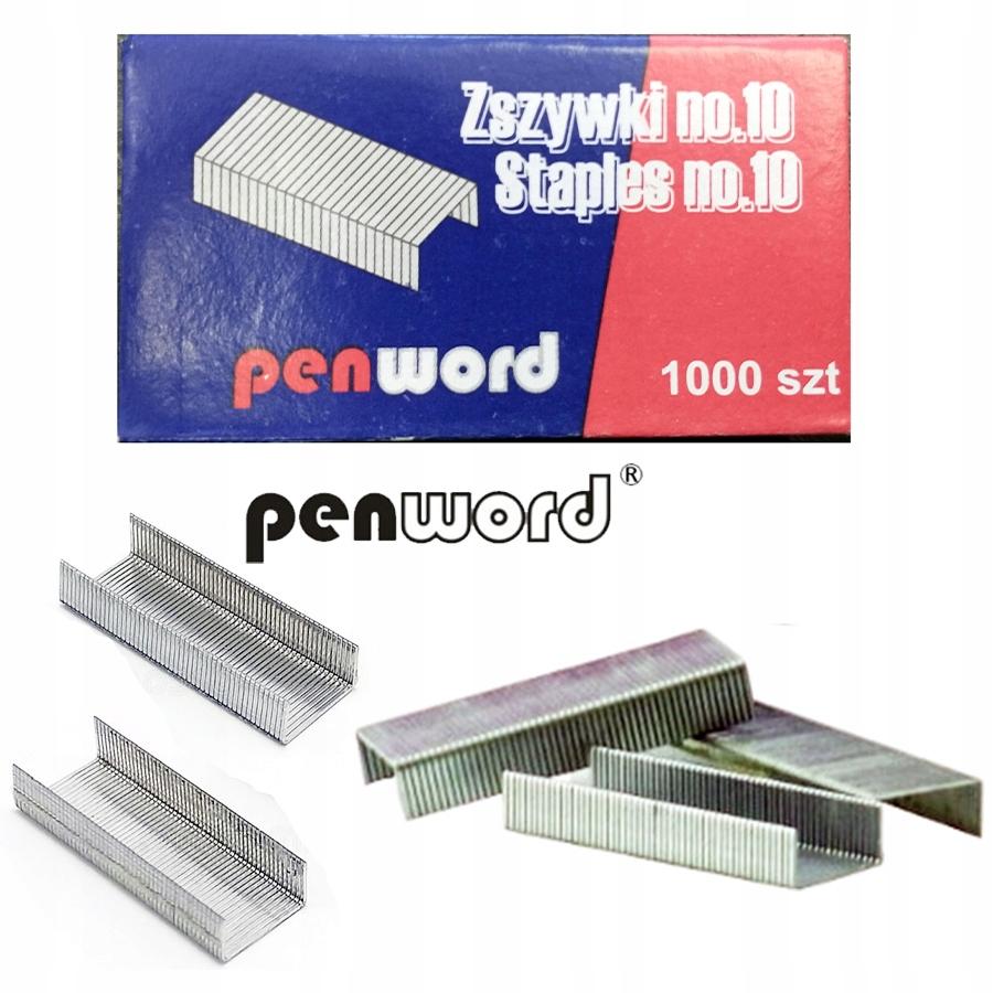 Zszywki nr 10 1 paczka / 10 opakowań x 1000szt