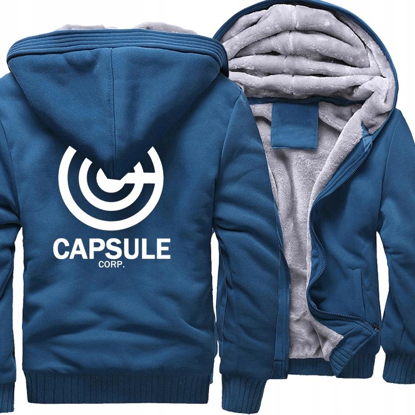 capsule corp bluza rozpinana