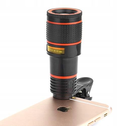 Uniwersalny obiektyw do aparatu w telefonie