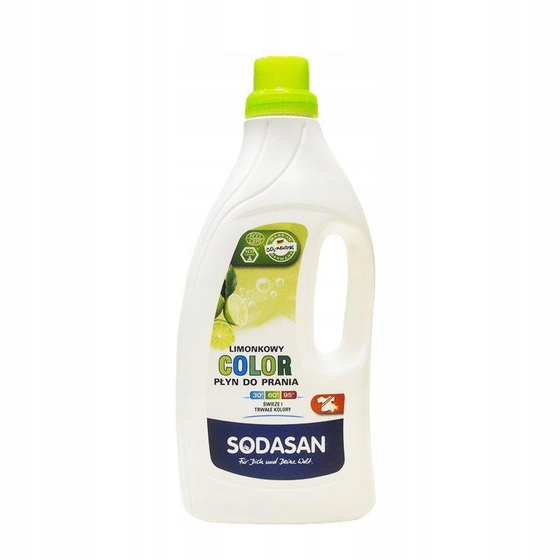 SODASAN Ekologiczny płyn do prania COLOR LIMONKOWY