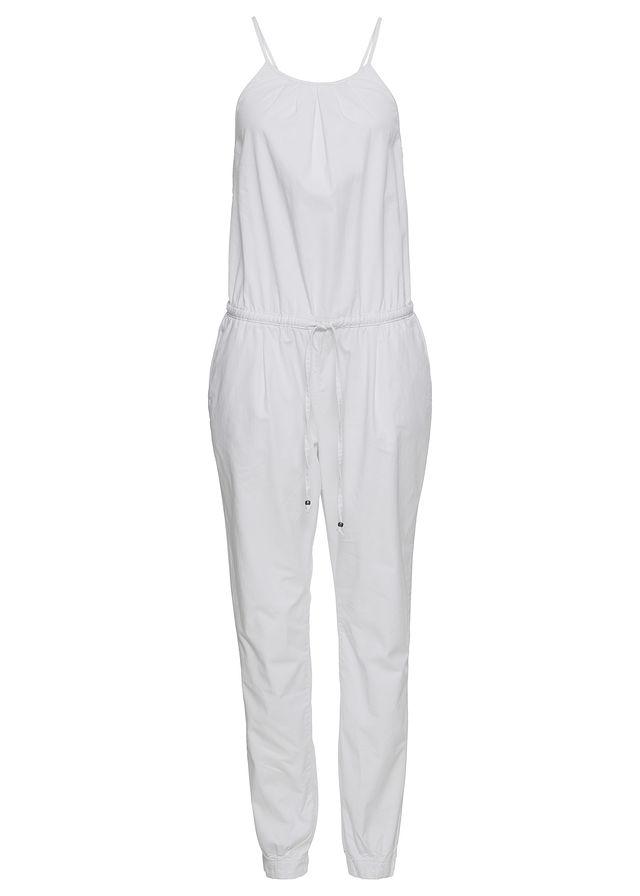 gBBB3785 NOWY BONPRIX biały modny kombinezon 48