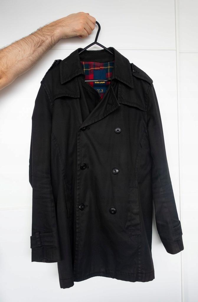ZARA Young płaszcz prochowiec rozmiar S 36
