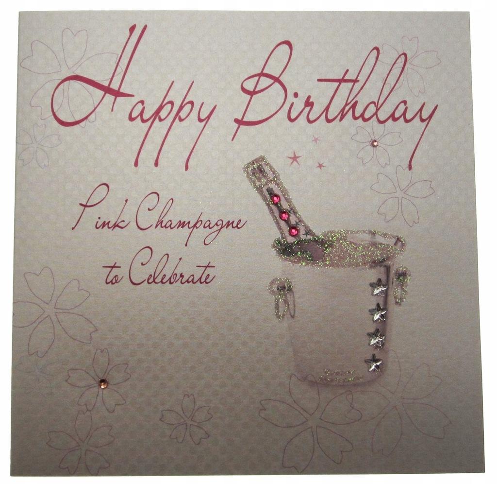 WHITE COTTON CARDS 1-Piece Happy Birthday To Celeb