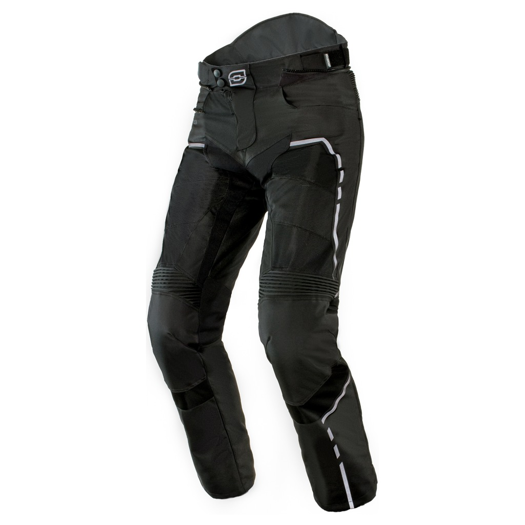 OZONE JET II BLACK spodnie tekstylne mesh +gratis