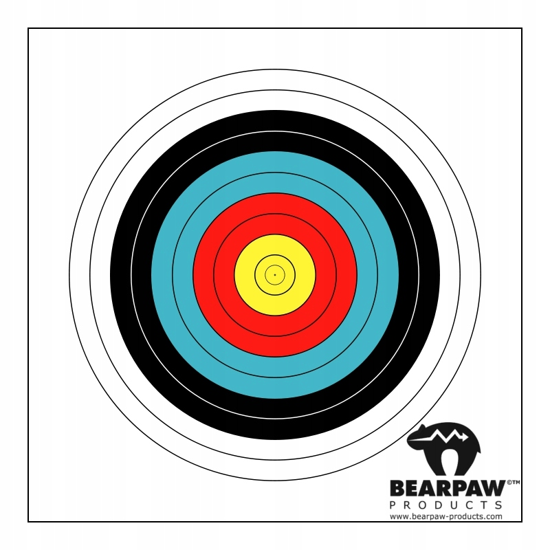 Tarcza fita 40cm Bearpaw Bodnik 10szt