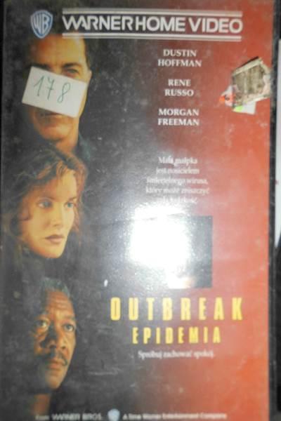 Epidemia - VHS kaseta video