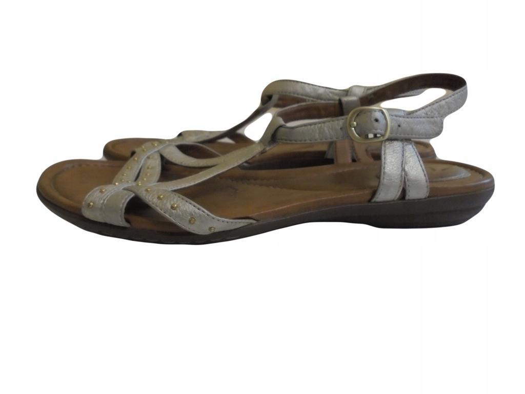 Skórzane sandały Clarks. Stan idealny. 39,5