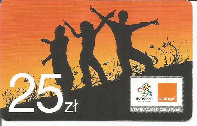 Orange Euro 2012 - 25 zł