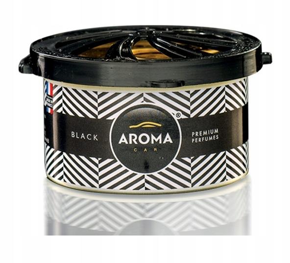 Zapach samochodowy PRESTIGE ORGANIC BLACK AromaCar