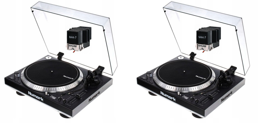 2x Gramofon Numark NTX1000 Katowice + 2x Sure M447