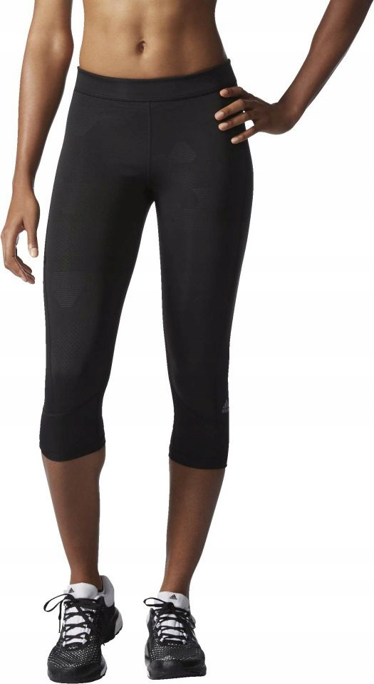 Legginsy 3/4 damskie Adidas Techfit Capri AI2957