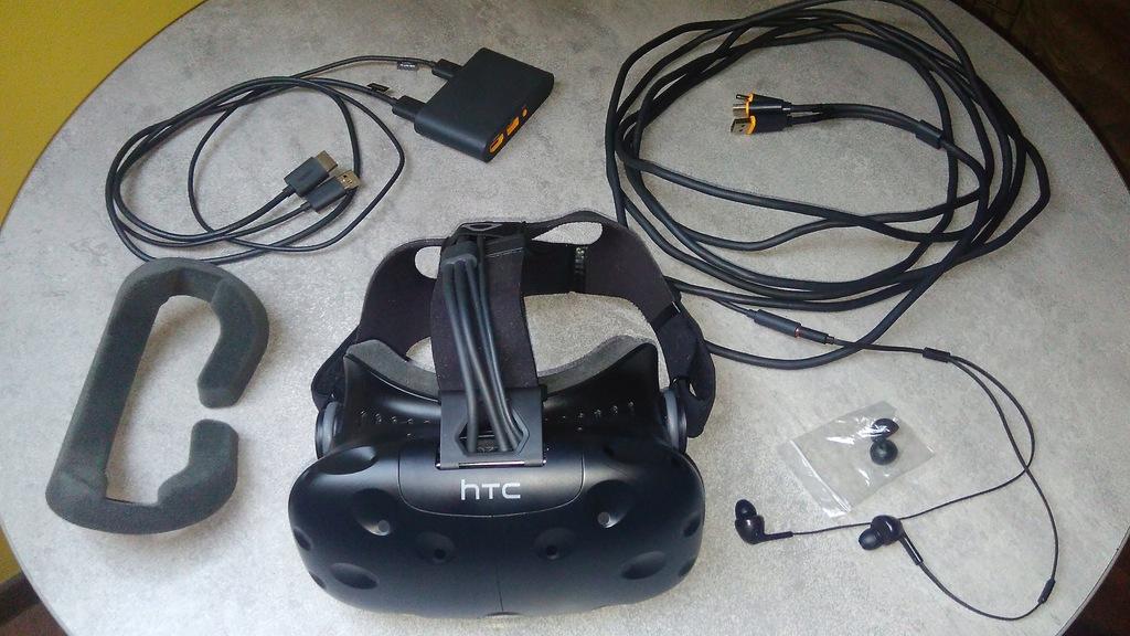 Gogle VR HTC VIVE / Linkbox / Kabel 3 in 1