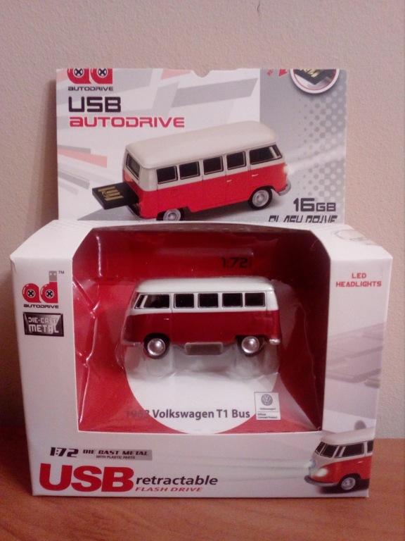 USB PENDRIVE VW Bully BUS 16 GB