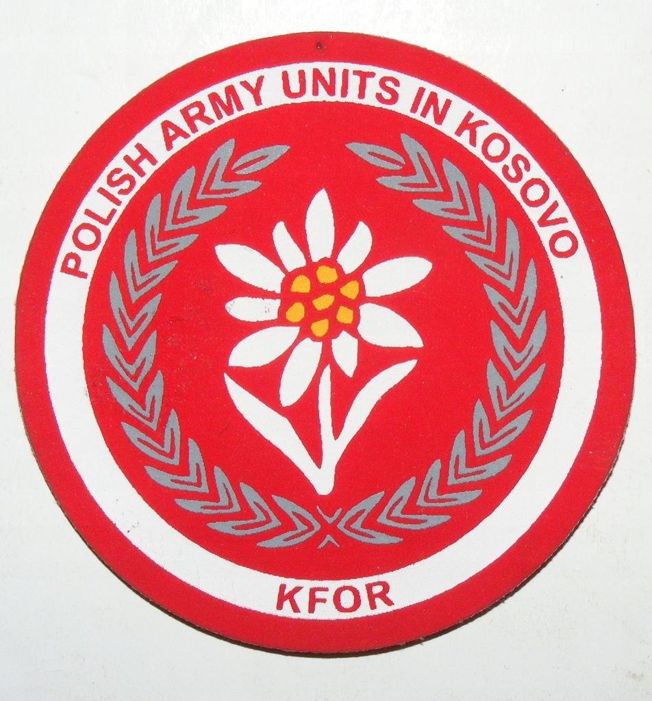 WP POLISH ARMY UNITS IN KOSOVO KFOR SITO #2