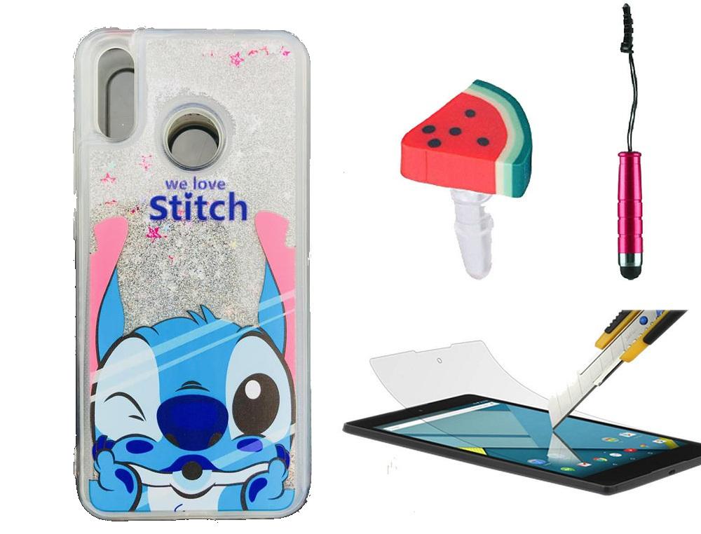 Etui Stitch Huawei P8 I P9 Lite 2017 Brokat Plyn 7338429426 Oficjalne Archiwum Allegro