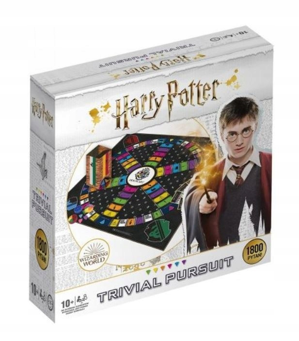 Gra Harry Potter Trival Pursiut Deluxe