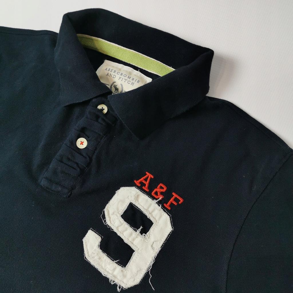 Koszulka męska polo _ ABERCROMBIE FITCH _ roz. S/M