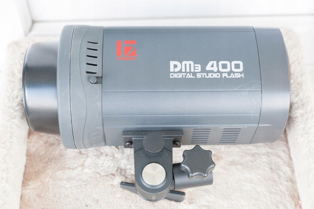 JINBEI DM3 400 TRS-V studyjna lampa błyskowa