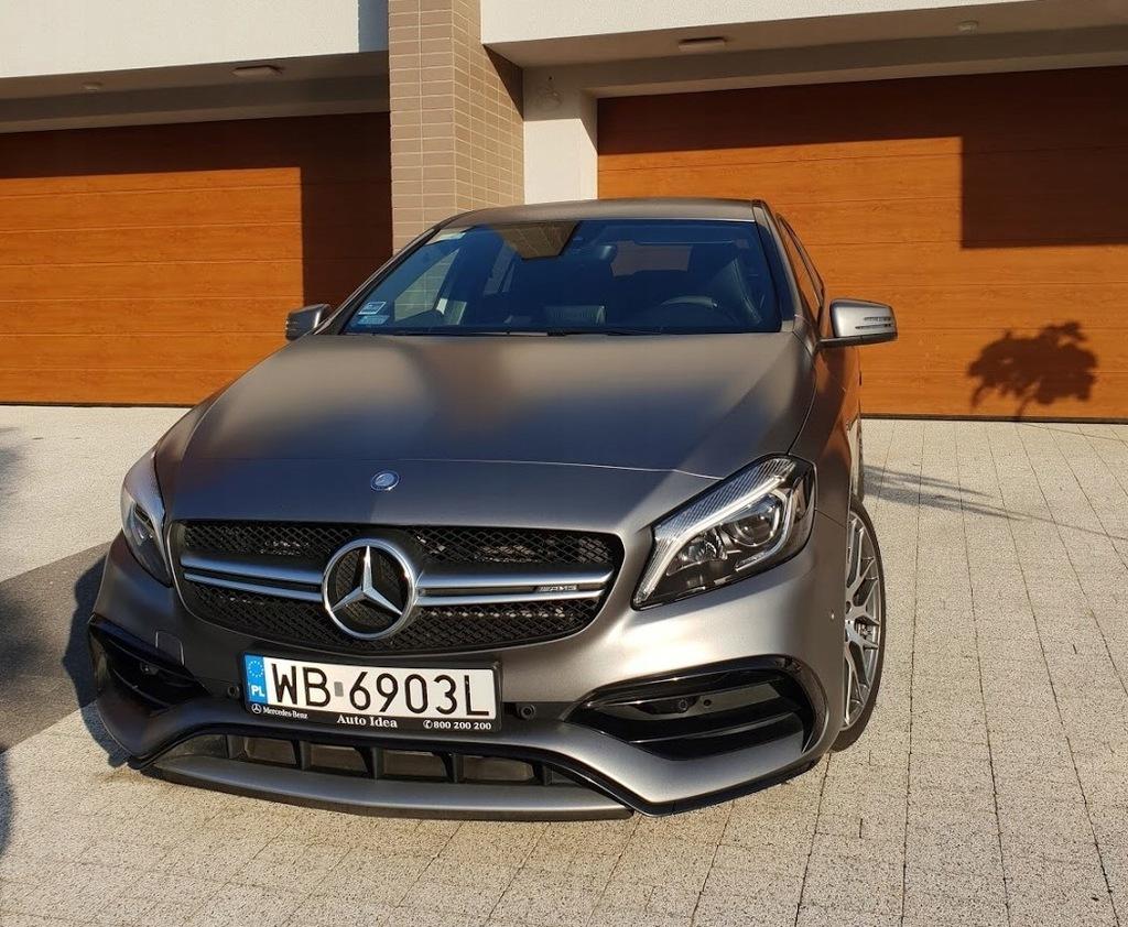 Mercedes A45 Amg 4matic Matowy Salon Pl Fv 23 7869875739 Oficjalne Archiwum Allegro