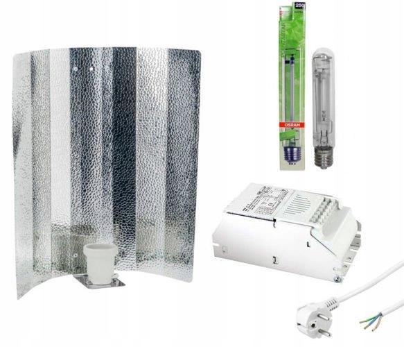 Zestaw HPS PlantaStar 250W + zasilacz + odbłyśnik
